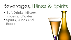 Beverages, Wines and Spirits