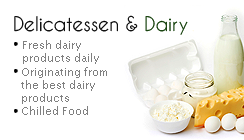 Delicatessen and Dairy
